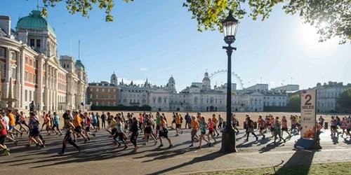 Royal Parks Half with London Eye