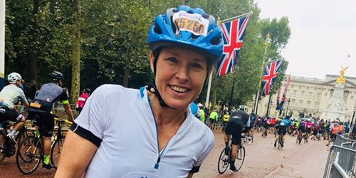 Anne McNee Ride London 2018